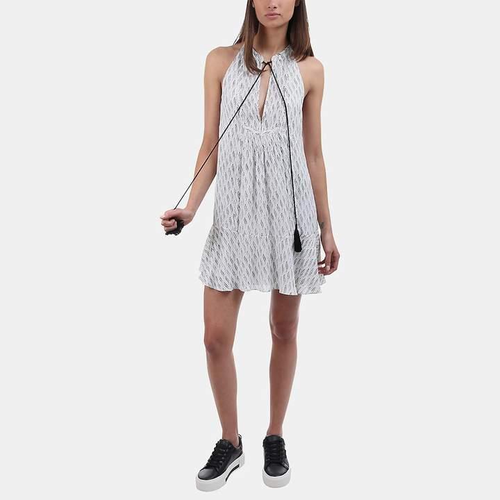A.L.C. Hadley Printed Silk Mini Dress