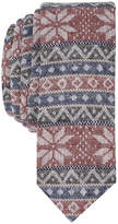 Original Penguin Men's Fair Isle Horizontal Skinny Tie