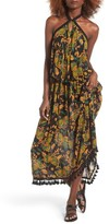 Raga Women's Tropical Paradise Print Maxi Dress