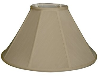 """Darby Home Co 13"""" Silk/Shantung Empire Lamp Shade Color: Beige"""
