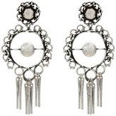 Dannijo hoop earrings with tassels