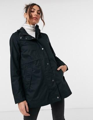 Hunter cotton jacket in black