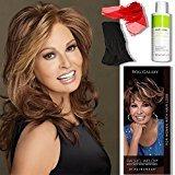 Hair U Wear Bundle - 5 items: Spotlight by Raquel Welch, Chiffon Scarf, Hairuwear Synthetic Shampoo, Hairuwear Hairloss Booklet, Wig Cap Liner, Color Chosen: RL 30/27