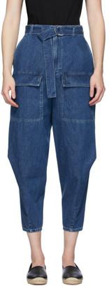 Stella McCartney Blue Cocoon Jeans