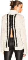 Pam & Gela Zip Back Sweater