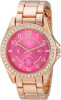 XOXO Women's XO177 Analog Display Analog Quartz Rose Gold Watch