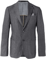 Z Zegna front pocket blazer - men - Cotton/Linen/Flax - 48
