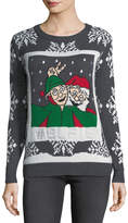 Chelsea & Theodore Elfie Snowflake Holiday Sweater