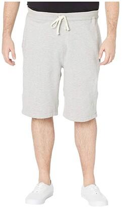 Polo Ralph Lauren Big & Tall Big Tall Fleece Athletic Shorts (Racing Red) Men's Shorts