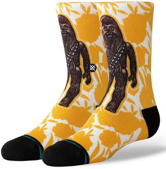 Stance Star Wars Floral Chewie Kids Crew Socks