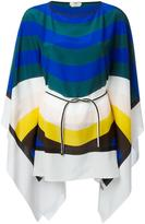 Fendi Waves kaftan - women - Silk - One Size