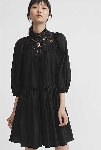 Witchery Lace Neck Dress