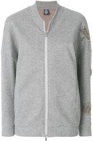 Eleventy embellished bomber jacket
