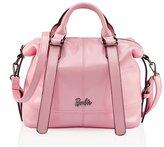 Barbie Fashion Women's Handbag Roes Leather Top Handle Messenger Shoulder Cross-Body Tote Satchel Bags BBFB218