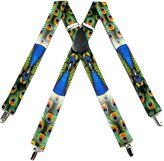 Buy Your Ties Mens Peacock Suspender Made in USA