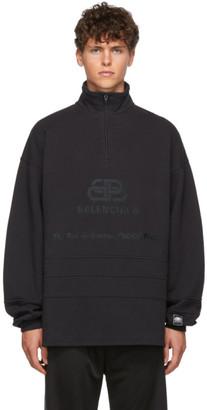 Balenciaga Black BB Address Pullover