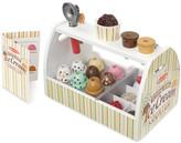 Melissa & Doug 20 Piece Scoop and Serve Ice Cream Counter Set