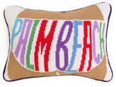 Jonathan Adler Palm Beach Needlepoint Throw Pillow