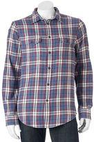 Men's SONOMA Goods for LifeTM Slim-Fit Flannel Button-Down Shirt