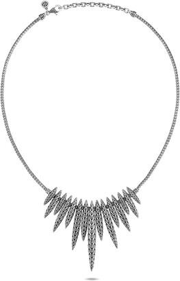 John Hardy Classic Chain Spear Dangling Bib Necklace