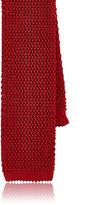 Barneys New York Men's Silk Necktie-RED