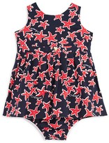 Armani Junior Infant Girls' Starfish Dress with Bloomers - Sizes 12-36 Months