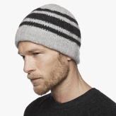 James Perse Cashmere Triple Stripe Beanie