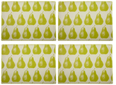 Simrin Pear Placemats (Set of 4)