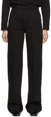 Lemaire Black Denim Jeans