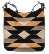 Ralph Lauren Patchwork Lennox Messenger Bag Black Mu One Size