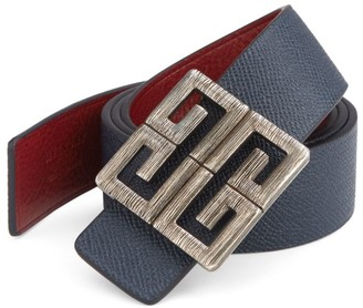 Givenchy Big Buckle Reversible Belt