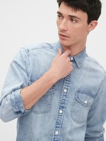 Gap Denim Shirt in Standard Fit