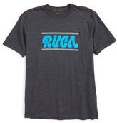 RVCA Boy's Joe Script T-Shirt