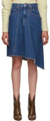 Isabel Marant Blue Denim Dranel Skirt
