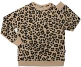 BEIGE Cribstar - Adults Leopard Sweatshirt - Small