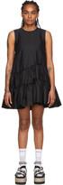 Simone Rocha Black Frill Dress