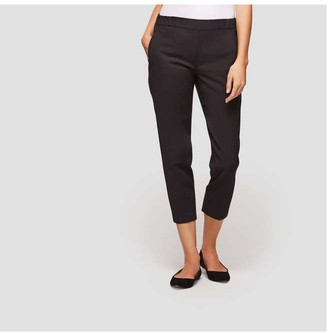 Joe Fresh Women's Essential Capri Pant, JF Black (Size XS)