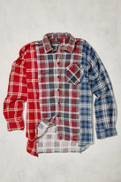 Urban Renewal Vintage One-of-a-kind Re-cut Flannel Shirt