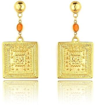Daixa Somed Kronos Earrings - Gold