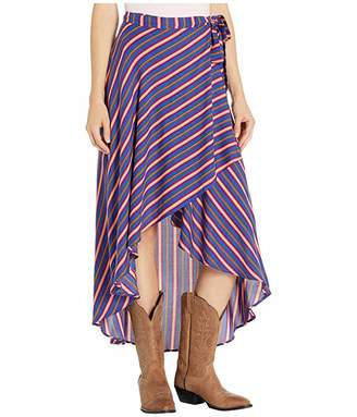 Rock and Roll Cowgirl Hi-Lo Skirt B9-2555