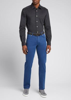 Kiton Men's 5-Pocket Twill Pants