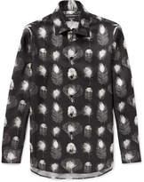 Alexander Mcqueen - Printed Silk-twill Shirt