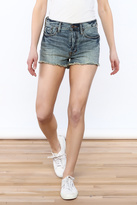 Free People High-Rise Denim Shorts