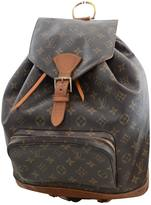 Louis Vuitton Montsouris leather backpack
