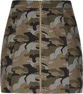 City Chic Miss Military Skirt