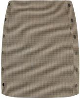 Sandro Houndstooth Mini Skirt