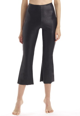 Singer22 Perfect Control Faux Leather Crop Flare
