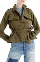 J.Crew J. CREW Cropped Fatigue Jacket