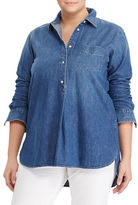 Lauren Ralph Lauren Plus Denim Shirt