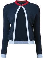 Versace open front cardigan